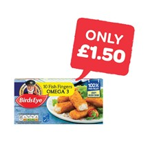 Birds Eye Omega 3 Fish Fingers | 10