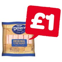 Denny Pork Sausages 12