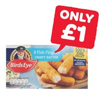 Birds Eye Oven Crispy Fish Fingers | 8