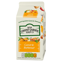 New Covent Garden Carrot & Butternut Soup, 600g