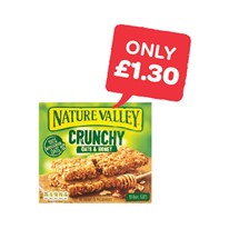 Nature Valley Breakfast Bars | 5 Pack
