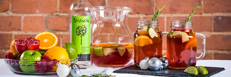 Festive Christmas Sangria Recipe