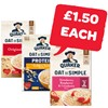 £1.50 | Quaker Oatso Simple / Protein / Heaps Of Fruit | 8/9/10/12 Pack