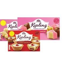 Mr Kipling Country / Bakewell / Lemon Slices / Viennese Whirls | 6 Pack