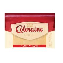 Coleraine Medium Cheddar Cheese | 600g