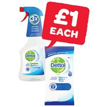 Dettol Surface Cleaner / Wipes | 500ml/36