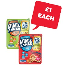 Attack a Snack Ham / Chicken | 99g
