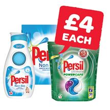 Persil Liquid 24 Wash / Capsules 19 Wash / Powder 23 Wash | 840ml/19