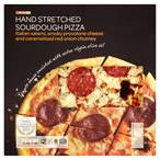 Salami, Provolone & Red Onion Chutney Premium Pizza, 445g