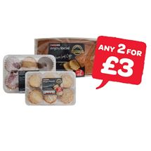 SPAR enjoy local Fairy Cake Medley / Chocolate / Lemon / Madeira Loaf Cake / Coconut Jam Delights / Viennese Whirls | 185g/225g/6 Pack