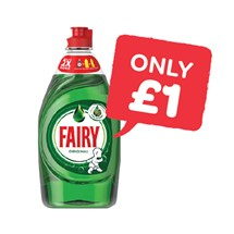 Fairy Washing Up Liquid Original / Lemon | 433ml