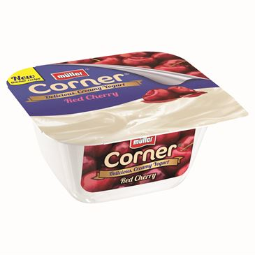Muller Fruit Corner Cherry Yogurt, 150g