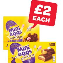 Cadburys Nest Cakes | 4 Pack