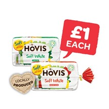 Hovis Soft White Medium / Thick Pan | 800g