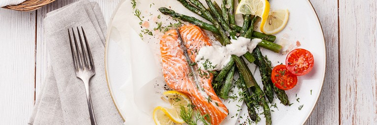 Salmon Valentines Recipe
