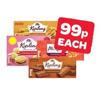 Mr Kipling Almond / Chocolate / Country Slices / Viennese Whirls | 6 Pack