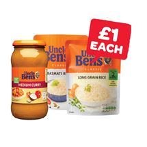 Uncle Bens Sauce / Express Rice | 450/440/250g