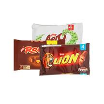 Nestle Kit Kat Chunky / Lion Bar / Toffee Crisp / Aero Bubbly / Rolo | 4 Pack
