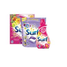 Surf Powder 23 Wash / Liquid 25 Wash / Capsules