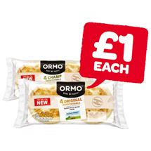 Ormo Fresh Mash / Champ Potato Bread | 4 Pack