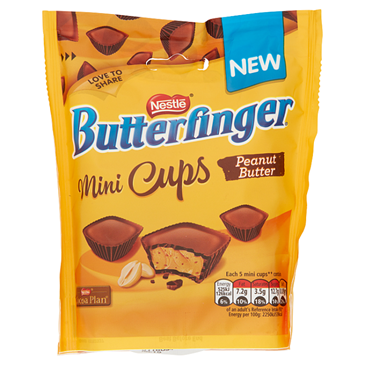 Butterfinger  Peanut Butter Mini Cups | 82g