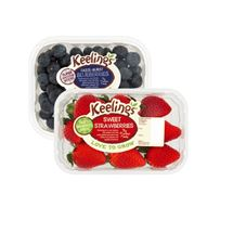 Keelings Blueberries & Strawberries | 125/227g