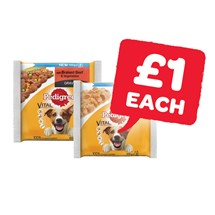 Pedigree Dog Pouches | 3 Pack