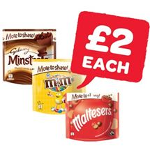 Galaxy Minstrels / Revels / Maltesers / M&M