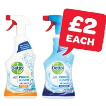 Dettol Power & Pure Bathroom / Kitchen | 750ml