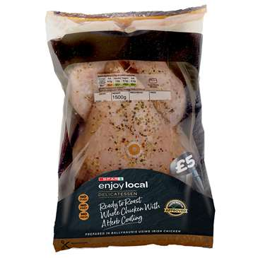 SPAR Enjoy Local Roast In A Bag Chicken With A Herb Coating