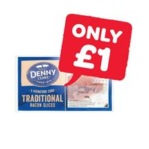 Denny Traditional Back Bacon | 150g