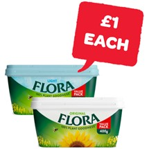 Flora Original / Light | 400g
