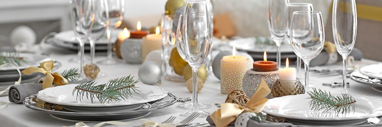 Christmas Dinner Ideas for Tableware