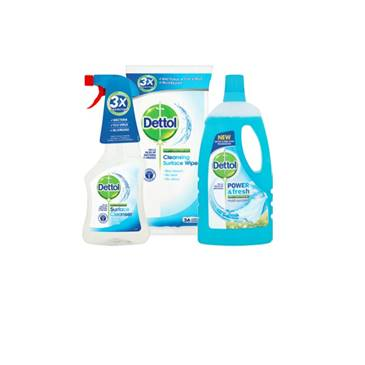 Dettol Power & Fresh / Surface Wipes / Surface Cleanser