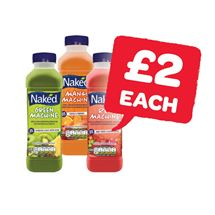 NAKED Red / Green / Blue / Mango Machine | 450ml