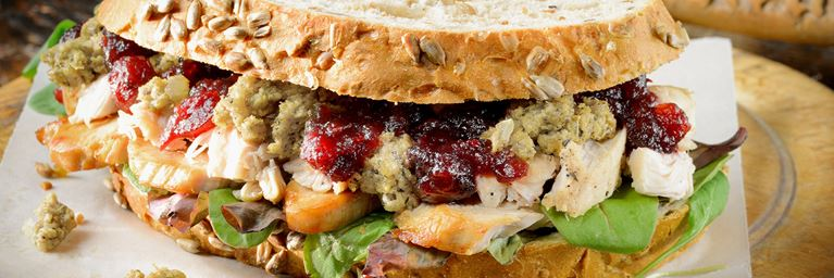 Elevate the simple turkey sandwich to a bread based feast with our Christmas leftover recipes