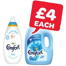 Comfort Fabric Conditioner 85 Wash | 1.28/3 Litre