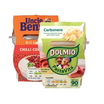 Dolmio Pasta Vita / Uncle Bens Rice Time | 270/300g