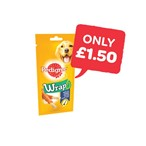 Only £1.50 | Pedigree Chicken Wrap | 50g