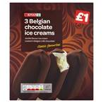 £1,SPAR Milk Chocolate Stick,3x100ml