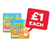 Dairylea Lunchables Ham & Cheese / Chicken & Cheese | 76 / 83g