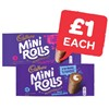 Only £1 | Cadbury Chocolate / Raspberry Mini Rolls | 5 Pack