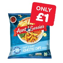 Aunt Bessies Homestyle Chips | 600g