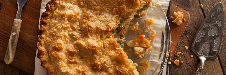 This turkey pie is one of those Christmas leftover recipes you