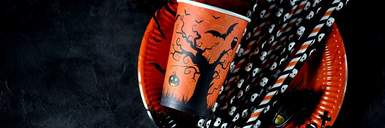 Halloween Themed Tableware
