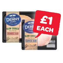Denny Deli Style Crumbed / Traditional Ham | 100g
