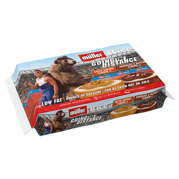 Muller Rice Limited Edition Rice Pudding (Athletics) | 6x180g