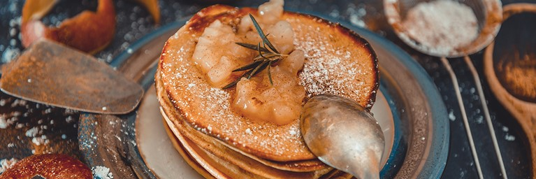 Spiced Apple Pancake Topping