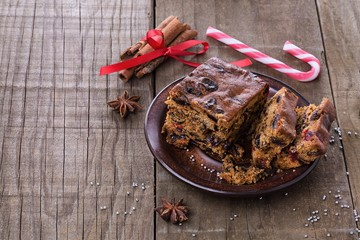 light Christmas cake recipe
