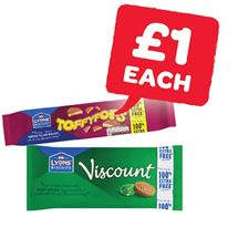 Lyons Viscount / Toffypops 100% Extra Free | 196/240g